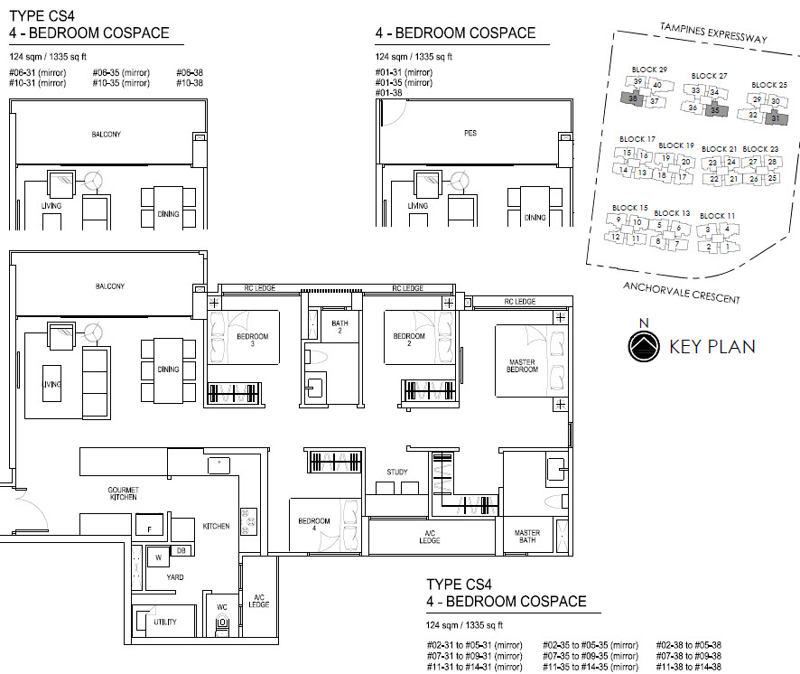 Bellewaters EC Floor Plan CS4