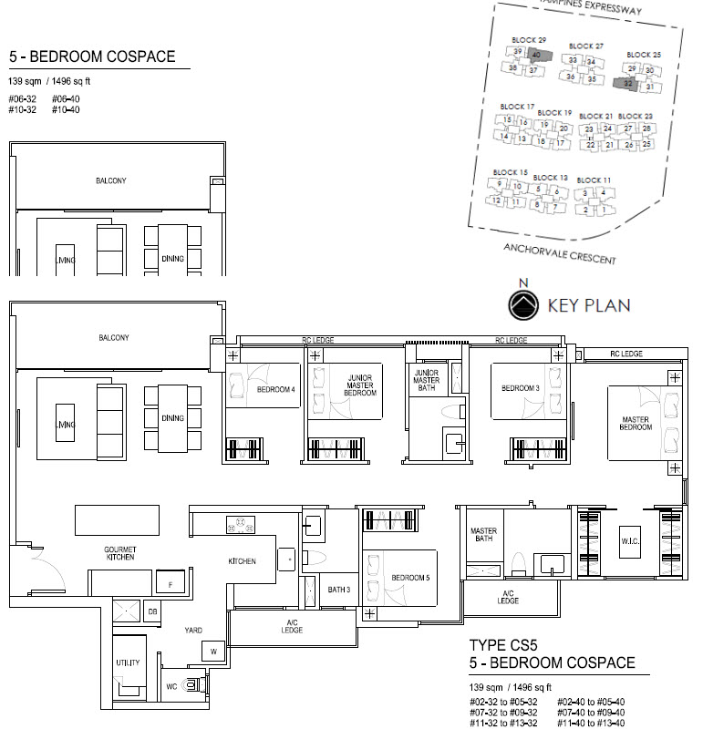 Bellewaters EC Floor Plan CS5